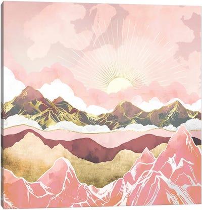 Blush Summer Sunrise Canvas Art Print