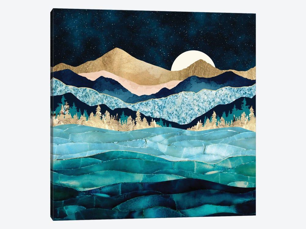 Midnight Ocean by SpaceFrog Designs 1-piece Canvas Art