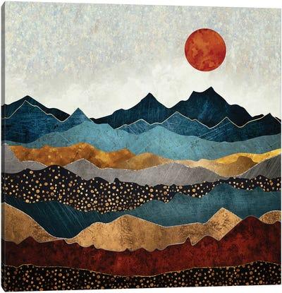 Amber Dusk Canvas Art Print