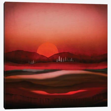 Solitude Canvas Print #SFD302} by SpaceFrog Designs Canvas Wall Art