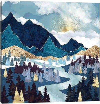 Valley Sunrise Canvas Art Print