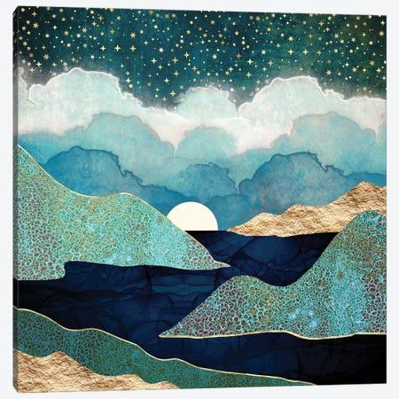 Ocean Clouds Canvas Print #SFD309} by SpaceFrog Designs Canvas Artwork
