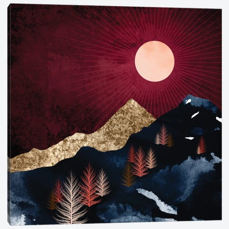 Autumn Night Canvas Print #SFD317} by SpaceFrog Designs Canvas Artwork