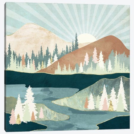 Autumn Sun Canvas Print #SFD318} by SpaceFrog Designs Canvas Print