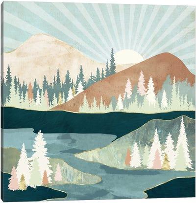 Autumn Sun Canvas Art Print