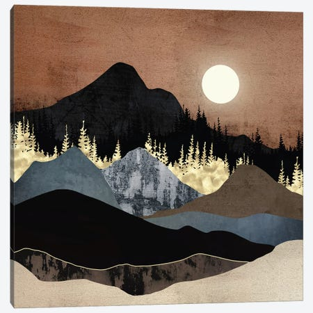 Autumn Mountains Canvas Print #SFD322} by SpaceFrog Designs Canvas Art