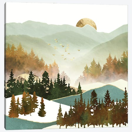 Fall Morning Canvas Print #SFD324} by SpaceFrog Designs Canvas Print