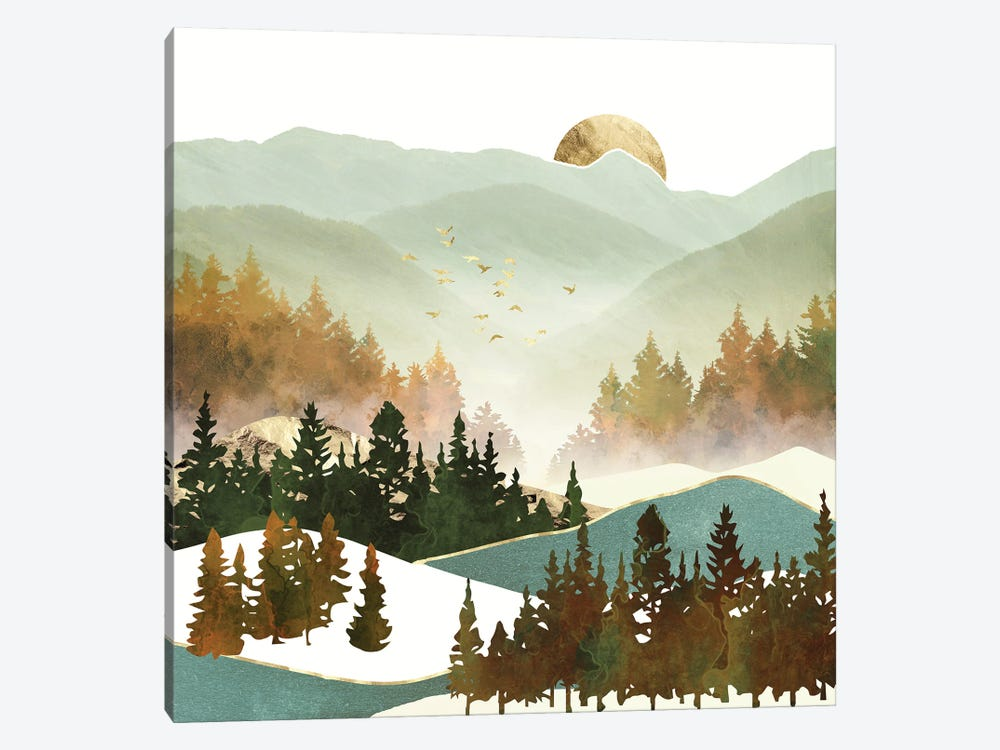 Fall Morning by SpaceFrog Designs 1-piece Art Print