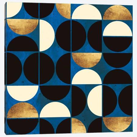 Retro Moon Canvas Print #SFD325} by SpaceFrog Designs Canvas Print