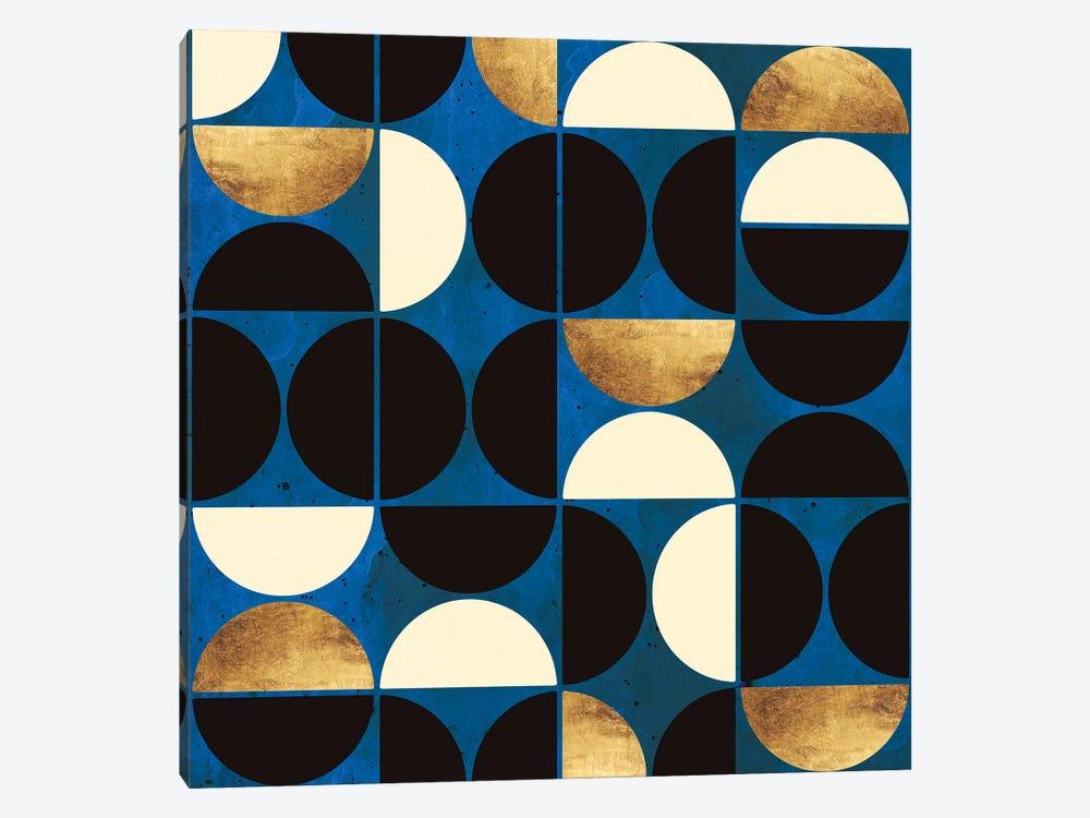 Retro Moon by SpaceFrog Designs 1-piece Canvas Art