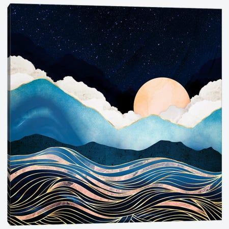 Star Sea Canvas Print #SFD326} by SpaceFrog Designs Art Print