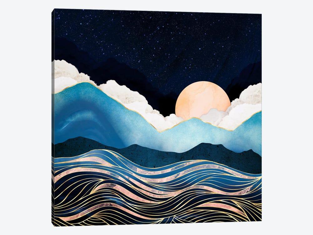 Star Sea by SpaceFrog Designs 1-piece Canvas Print