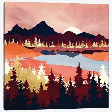 Grapefruit Sky Canvas Print #SFD327} by SpaceFrog Designs Canvas Art Print