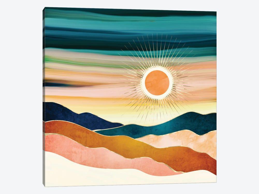 Jewel Dusk by SpaceFrog Designs 1-piece Canvas Art Print
