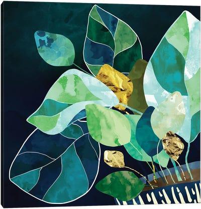 Indigo Plant I Canvas Art Print
