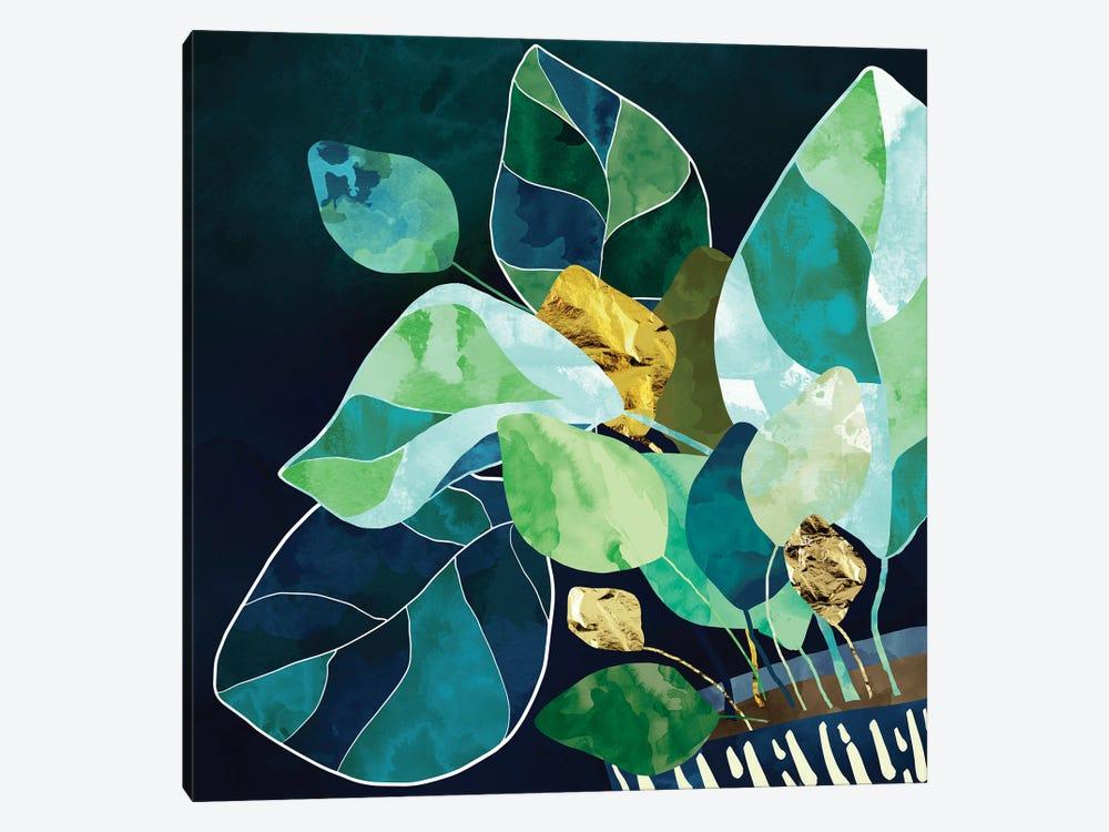 Indigo Plant I by SpaceFrog Designs 1-piece Canvas Art