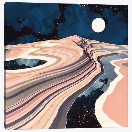 Desert Reflection Canvas Print #SFD331} by SpaceFrog Designs Art Print