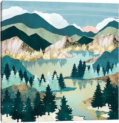 Winter Sun Canvas Art Print