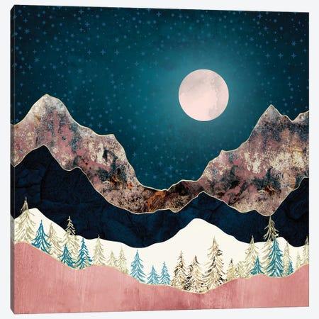 Pine Vista Canvas Print #SFD335} by SpaceFrog Designs Canvas Artwork