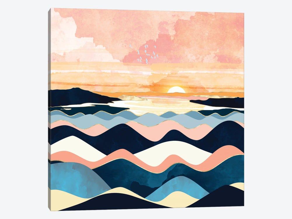 Autumn Ocean by SpaceFrog Designs 1-piece Canvas Artwork