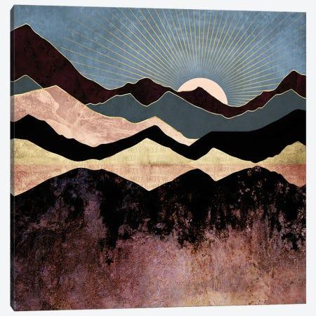 Crimson Peaks Canvas Print #SFD339} by SpaceFrog Designs Canvas Art Print