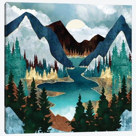 River Vista Canvas Print #SFD352} by SpaceFrog Designs Canvas Art Print