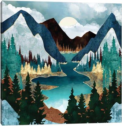 River Vista Canvas Art Print