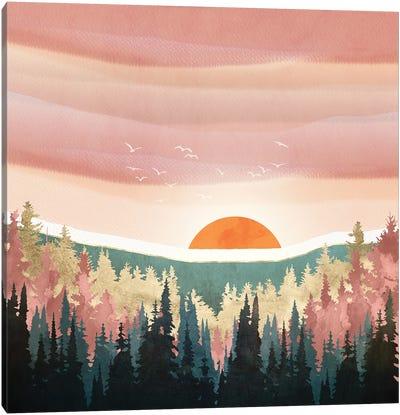Dusk Calm Canvas Art Print
