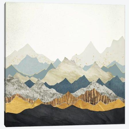 Distant Peaks Canvas Print #SFD35} by SpaceFrog Designs Canvas Art Print