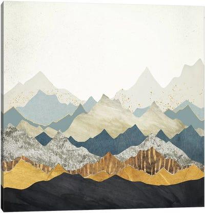 Distant Peaks Canvas Art Print
