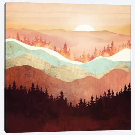 Amber Vista Canvas Print #SFD360} by SpaceFrog Designs Canvas Art