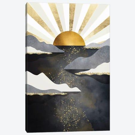 Metallic Dusk Canvas Print #SFD368} by SpaceFrog Designs Canvas Art