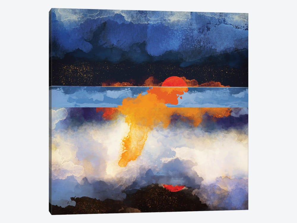 Dusk Reflection by SpaceFrog Designs 1-piece Canvas Wall Art