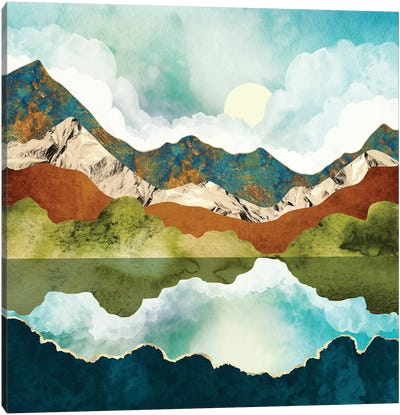 Spring Mountains Canvas Art Print
