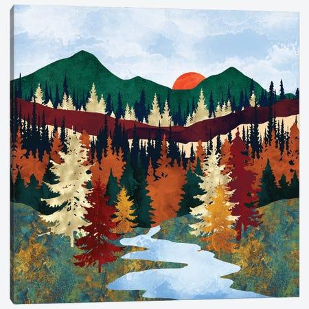 Valley Stream Canvas Print #SFD379} by SpaceFrog Designs Art Print