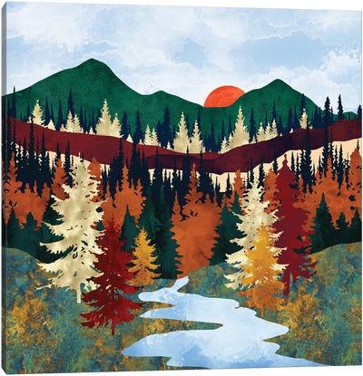 Valley Stream Canvas Art Print