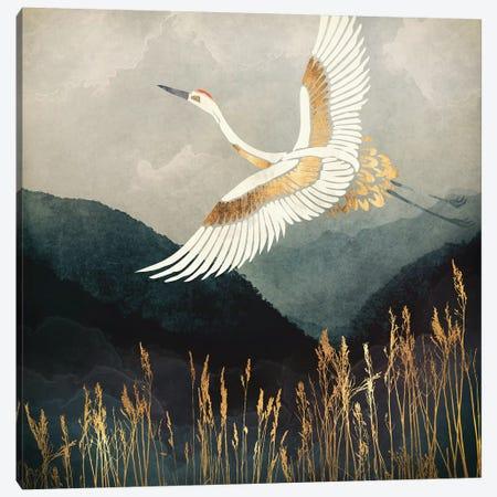 Elegant Flight Canvas Print #SFD37} by SpaceFrog Designs Canvas Art Print