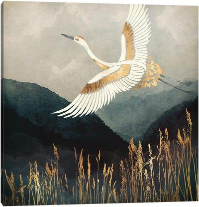 Elegant Flight Canvas Art Print