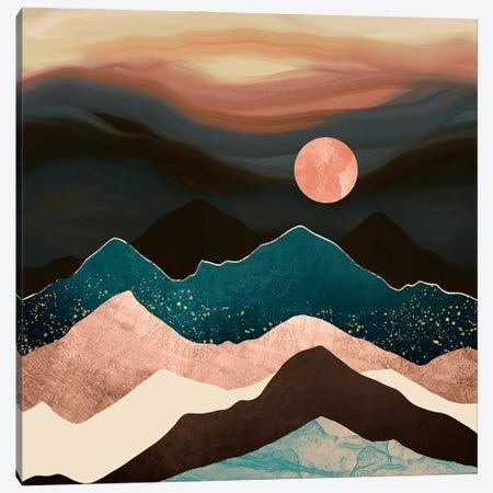 Dusk Breeze Canvas Print #SFD381} by SpaceFrog Designs Canvas Artwork