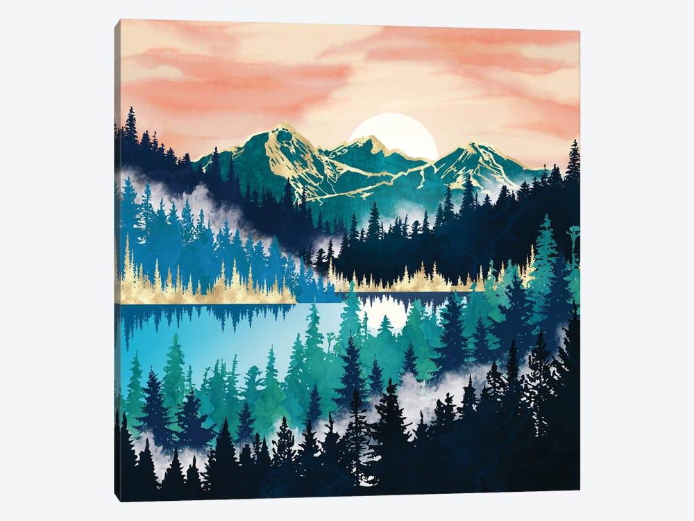 Lake Mist by SpaceFrog Designs 1-piece Canvas Art Print