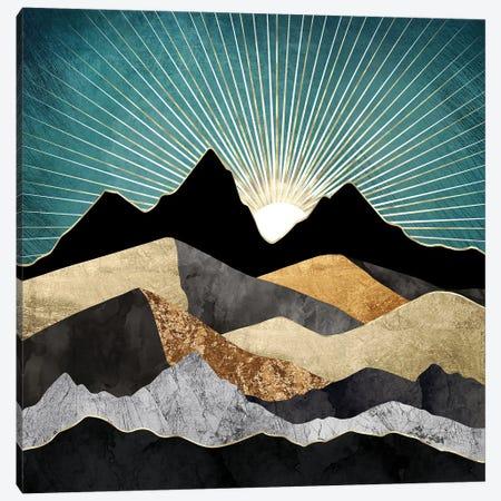 Metallic Daybreak Canvas Print #SFD384} by SpaceFrog Designs Canvas Art Print