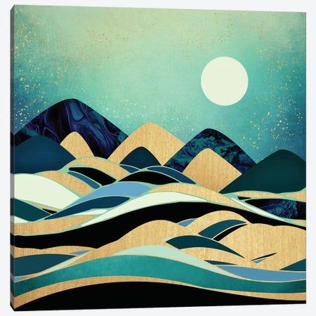 Emerald Evening Canvas Print #SFD38} by SpaceFrog Designs Canvas Artwork