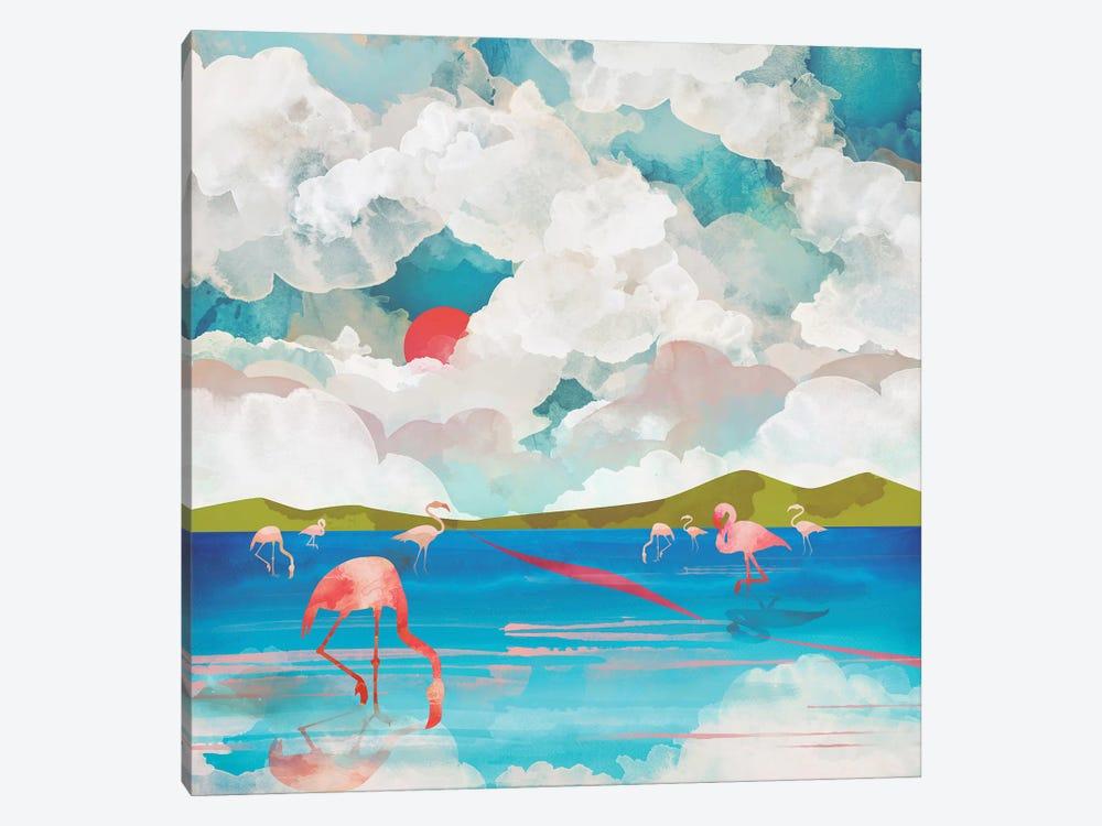 Flamingo Dream by SpaceFrog Designs 1-piece Canvas Artwork