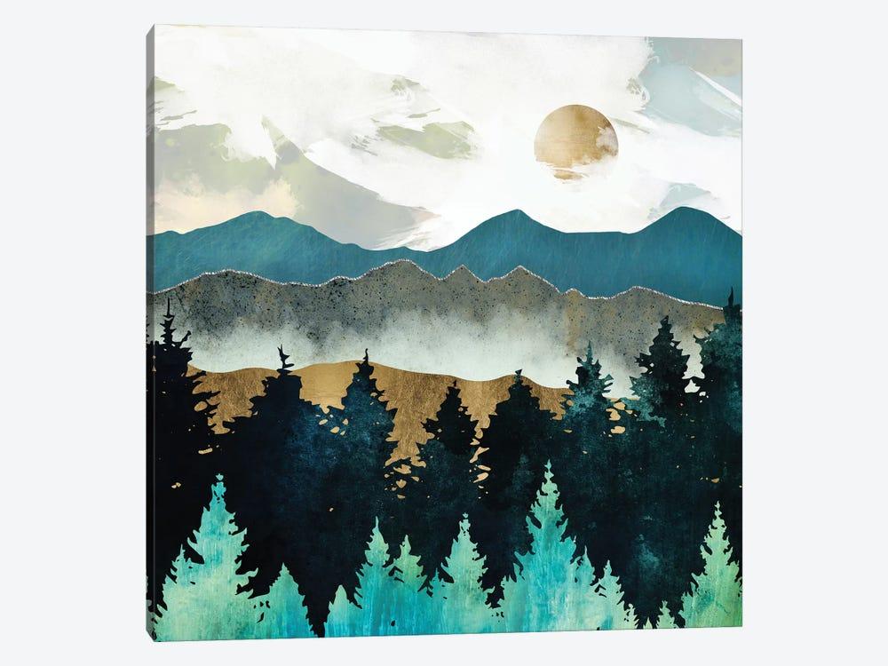 Forest Mist by SpaceFrog Designs 1-piece Canvas Art