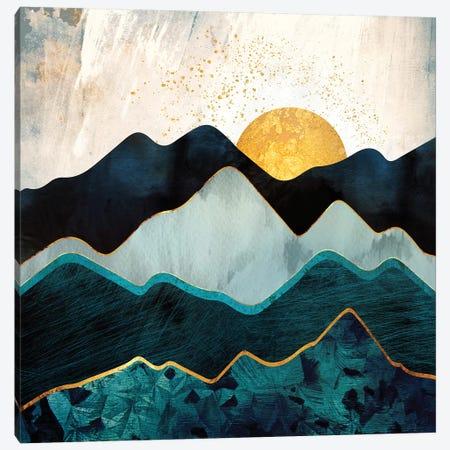 Glacial Hills Canvas Print #SFD47} by SpaceFrog Designs Canvas Artwork