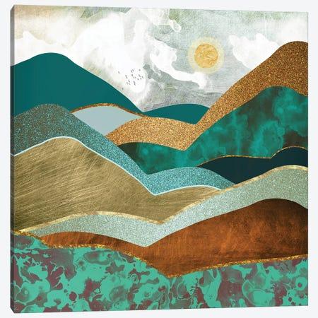 Golden Hills Canvas Print #SFD49} by SpaceFrog Designs Canvas Print