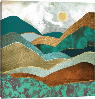 Golden Hills Canvas Art Print