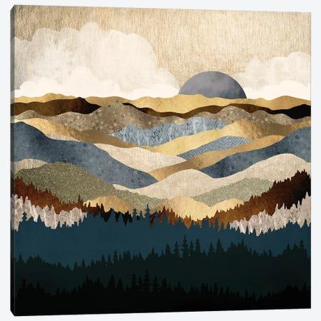 Golden Vista Canvas Print #SFD53} by SpaceFrog Designs Canvas Art