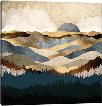 Golden Vista Canvas Art Print