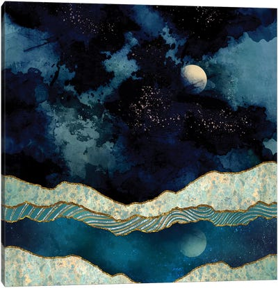 Indigo Sky Canvas Art Print